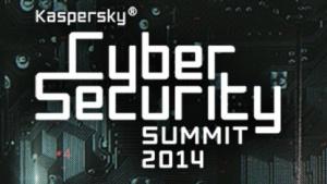 Das Logo des Kaspersky Cybersecurity Summit 2014 in San Francisco