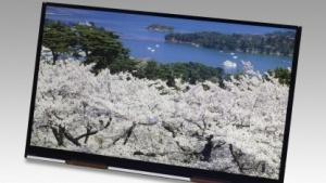 10-Zoll-Panel für Tablets mit 4K-Auflösung