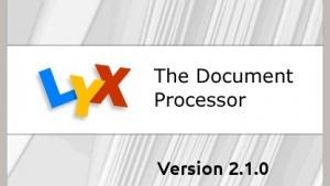 Lyx 2.1 ist erschienen.