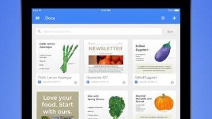 Google Docs auf dem iPad