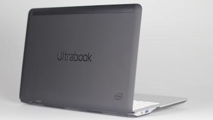 So sah das Referenz-Ultrabook mit der älteren Ivy-Bridge-Generation aus.