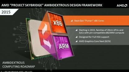 Skybridge soll x86- und ARM-Kerne vereinen.