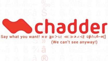 Das Logo und Versprechen von Chadder