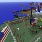 Minecraft: Die USA attackieren Dänemark