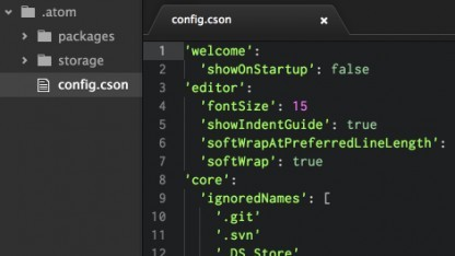 Githubs Atom Editor ist Open Source.