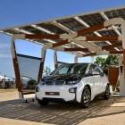 Elektroauto: BMW stellt Carport mit Solarlader vor