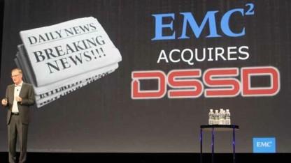 Der Storage-Spezialist EMC hat das Startup DSSD übernommen.