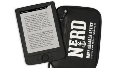 E-Book-Reader Nerd: ohne verräterische Kamera und Funk