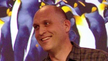 Greg Kroah-Hartman auf dem Linuxtag 2014