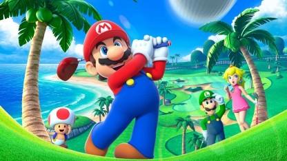 Artwork von Mario Golf World Tour