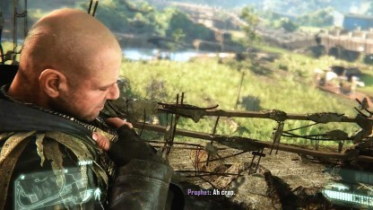 """Die Figur """"Psycho"""" aus Crysis 3 bekommt Herzschmerzen beim Gedanken an den Deutschen Computerspielpreis."""