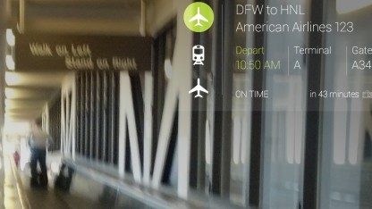 Google Glass auf Reisen