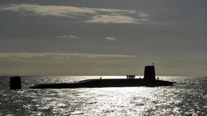Britisches Atom-U-Boot HMS Victorious (Symbolbild): Bewegungen unter Wasser erfassen