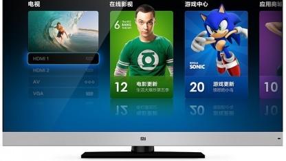 Die Mi-Oberfläche auf dem ersten Smart TV von Xiaomi