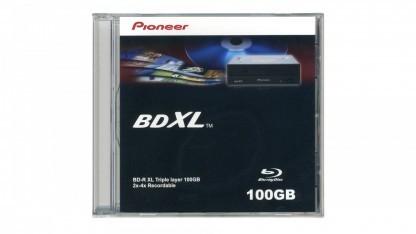 Der aktuelle BDXL-Standard sieht 100 (drei Layer) und 125 GByte (vier Layer) vor.