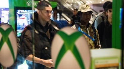 Xbox-One-Verkaufsaktion in New York