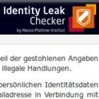 Security: Datenbank informiert über Identitätsklau