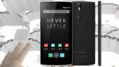 One-Smartphone mit Cyanogenmod