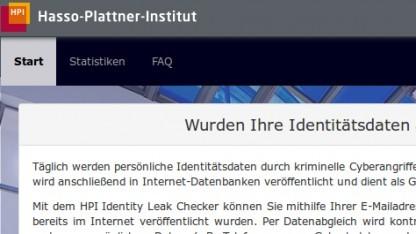Der Identity Leak Checker gibt Betroffenen nur unzureichende Informationen.
