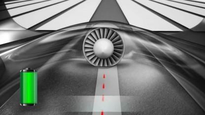 Airbus E-Concept: drei Stunden Flugzeit