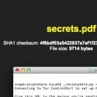Onionshare: Filesharing für das Tor-Netzwerk