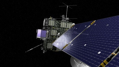 Rosetta ist auf dem Weg zum Kometen 67P/Tschurjumow-Gerasimenko.