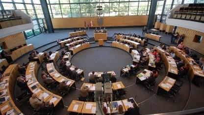 Der Landtag von Thüringen