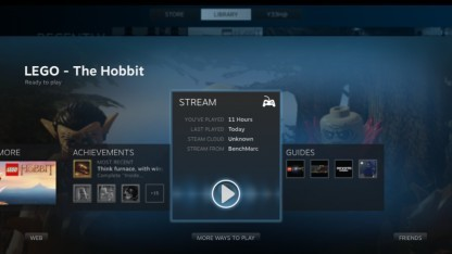 In-Home Streaming mit Lego Der Hobbit