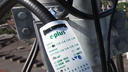 LTE-Netzausbau bei E-Plus schreitet voran.