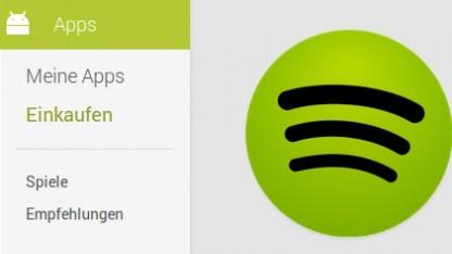 Die Android-App von Spotify wird nach einem Hacker-Angriff aktualisiert.