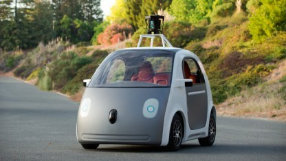 Autonomes Google-Auto: Mensch muss Kontrolle übernehmen können.