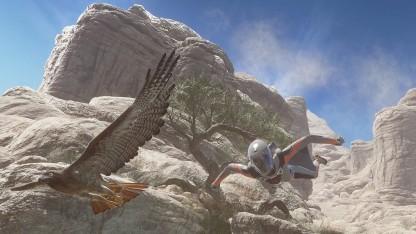 Neue Szene Sky Diver für 3DMark.