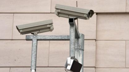 Überwachungskameras am BND-Sitz in Berlin: Vorbilder NSA und GCHQ