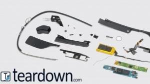 Die Einzelteile von Google Glass haben nur einen geringen Wert.