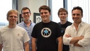 John Carmack (links) mit dem Oculus-Team