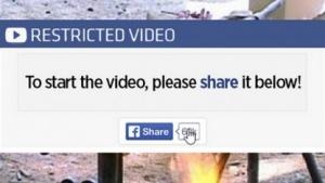 Screenshot eines Fake-Videos von Internetbetrügern