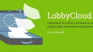 Lobbycloud will die Arbeit von Lobbyisten in der EU transparenter machen.
