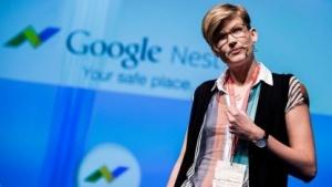 Faith Bosworth bei der Vorstellung von Google Nest auf der Re:publica