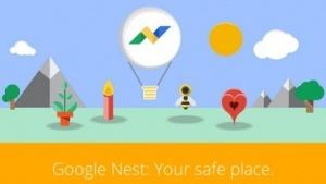 Screenshot der Satire-Website google-nest.org