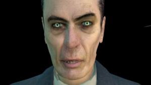 Der G-Man begrüßt auch Shield-Spieler zu Beginn von Half-Life 2.