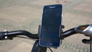 Das Visiobike mit Smartphone-Integration