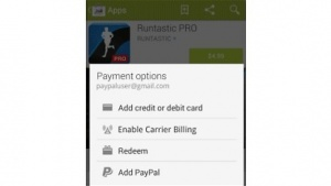 Im Play Store per Paypal bezahlen
