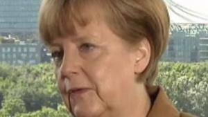 Bundeskanzlerin Angela Merkel spricht sich für eine bessere Startup-Förderung aus.