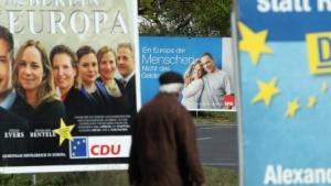Auf die Plakate hat es die Netzpolitik vor den Europawahlen nur selten geschafft.