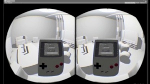 Game Boy auf Oculus Rift