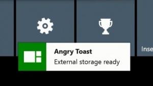 Angry Toast speichert zukünftig Spiele.