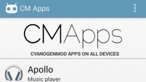 CM Apps für Android