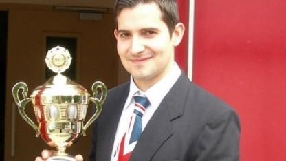 Der Weltmeister und mehrfache Rekordhalter in Super Mario Kart Sami Cetin
