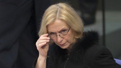Forschungsministerin Johanna Wanka