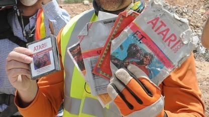 Ende April 2014 ausgegrabene ET-Cartridges